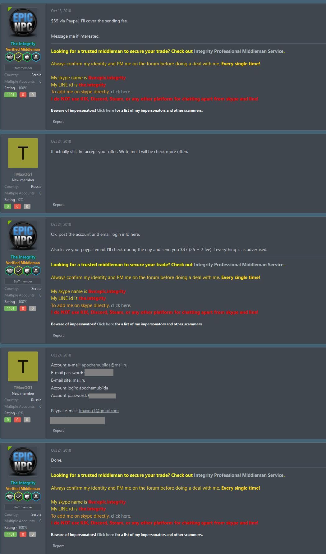 TMaxOG1 recalled Steam account | EpicNPC Marketplace